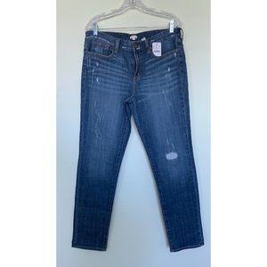 J crew distressed jeans NWT